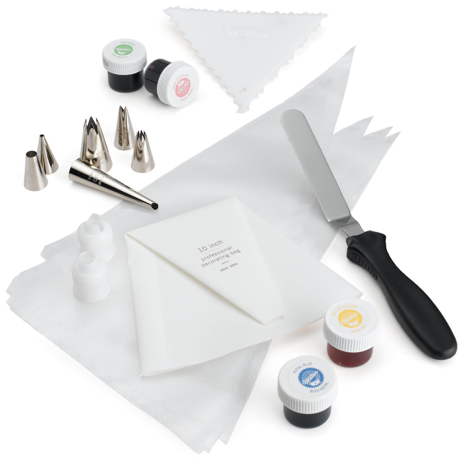 Wilton 23-Piece Cupcake & Cake Decorating Set Only USD13!!   Saving with Vetta   Couponing