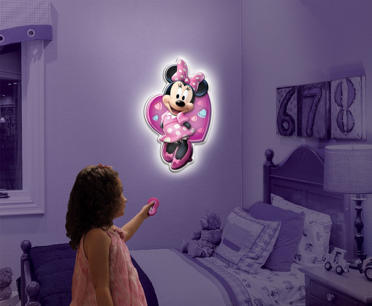 Uncle milton wall friends minnie mouse talking room light only uncle milton wall friends minnie mouse talking room light only 699 wow geotapseo Gallery