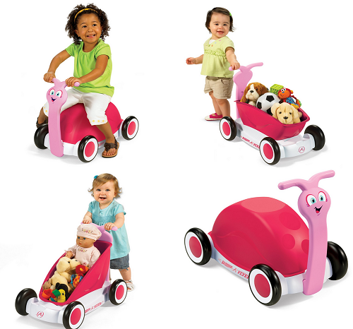 Radio Flyer 3 In 1 Walker Wagon Pink 26 69 Down From 49 99