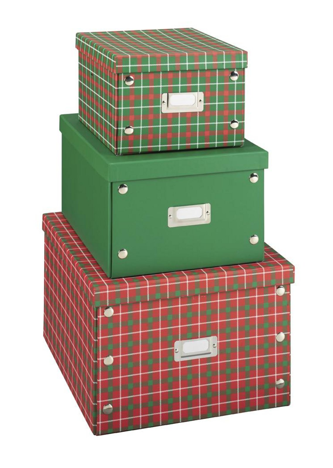 Essential Home 3 Piece Stackable Christmas Storage Bo 1 4 At Kmart Saving With Vetta Couponing