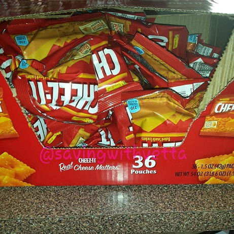 Cheez It Crackers Original 1 5 Ounce Packages Pack Of
