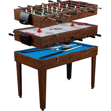 Attractive Perfect For The Game Room, Kids Play Area And More! MD Sports 48u2033 3 In 1  Multi Game Table Only $79, Down From $129.99!