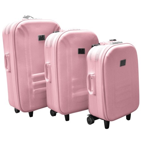 3-Piece Set: BluePack Heavy Duty Luggage Collection $42.49 Shipped ...