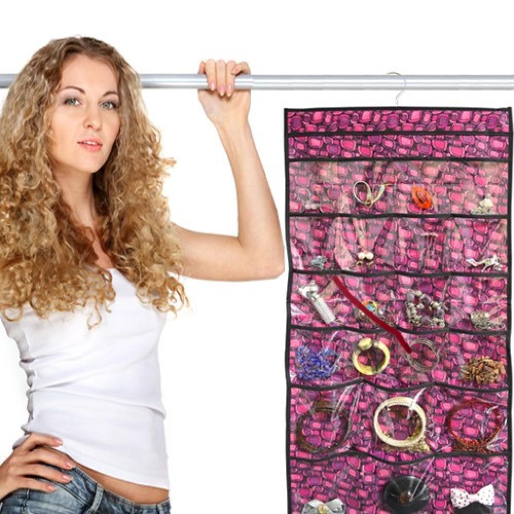 Merveilleux Closet / Door Hanging Jewelry Organizer $3.99 Free Shipping! U2013 Saving With  Vetta U2013 Couponing