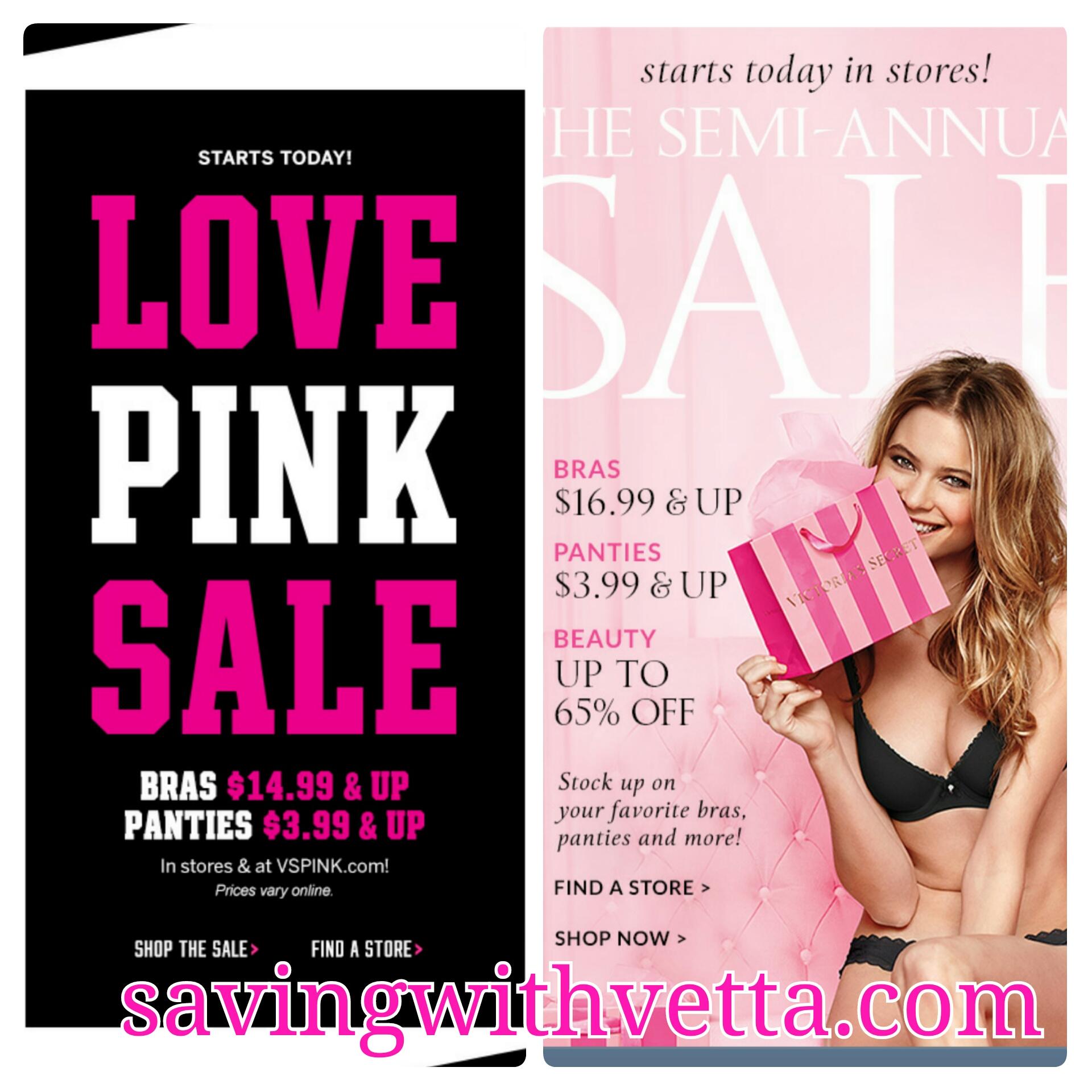 Victoria secret sale dates