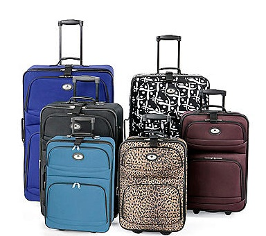 $14.97 Leisure Bayside 18″ Carry-On Luggage! Lots Of Colors To ...