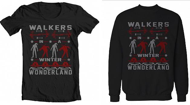 Walking Dead Inspired Walkers In A Winter Wonderland Ugly ...