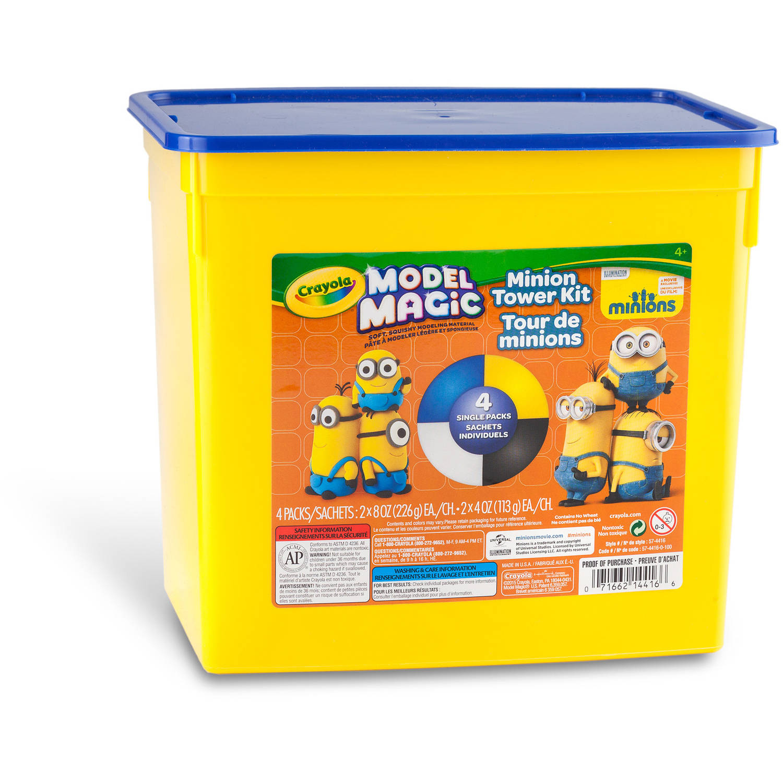 lower crayola model magic clay 1 5 lb tub minion