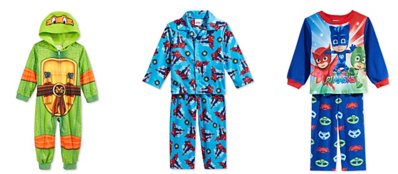 Boys Character Pajamas Only $3.99, Girls $4.99! | Saving with ...