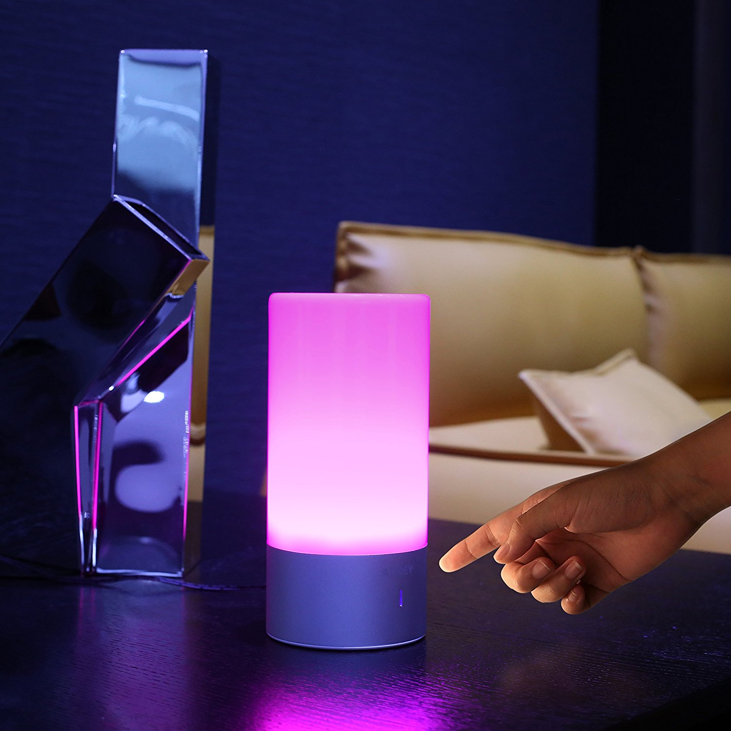 AUKEY Bedside Lamp, Touch Sensor Table Lamp UK