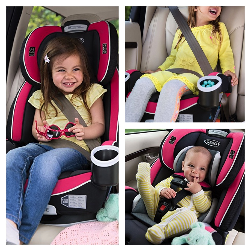 Graco 4ever All In One Convertible Car Seat Azalea Only 19033 SHIPPED