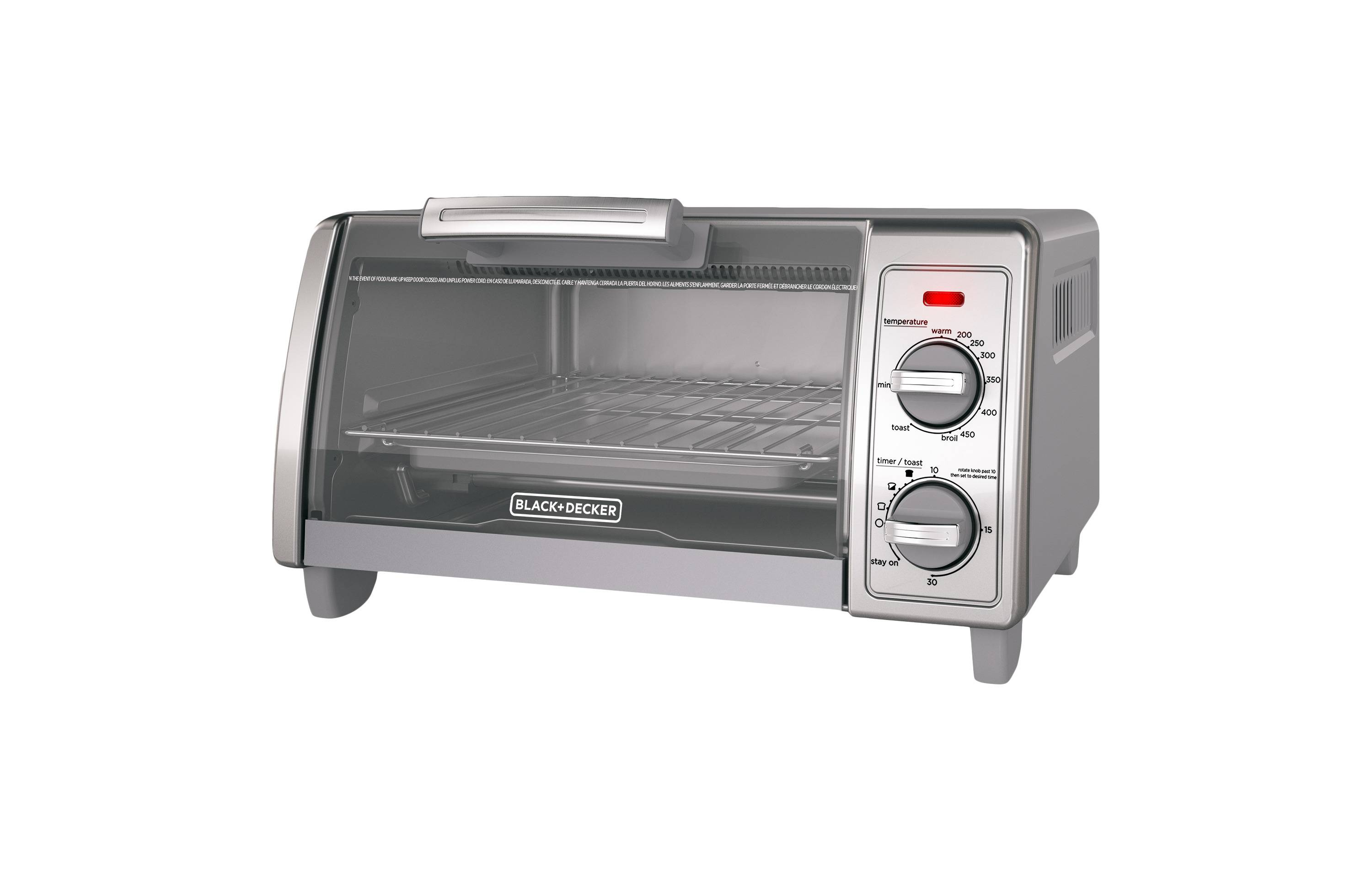 slice decker toaster free on garden black oven home over steel shipping overstock orders stainless product