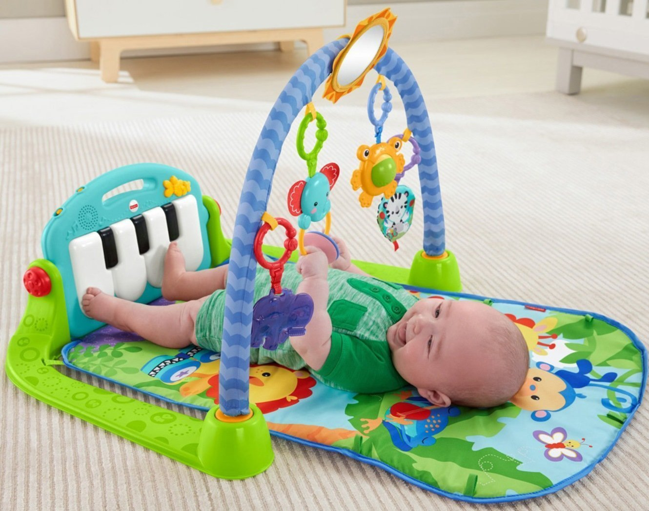 d56e6b9c1 Fisher-Price Kick   Play Piano Gym
