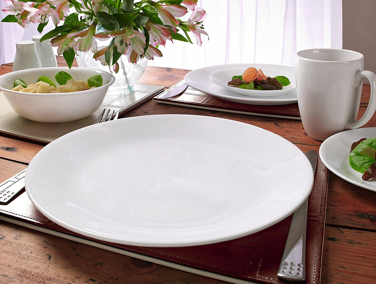 Corelle Livingware 6-Piece Dinner Plate Set Winter Frost White Only $11.99 SHIPPED! : corelle dinner plates only - pezcame.com
