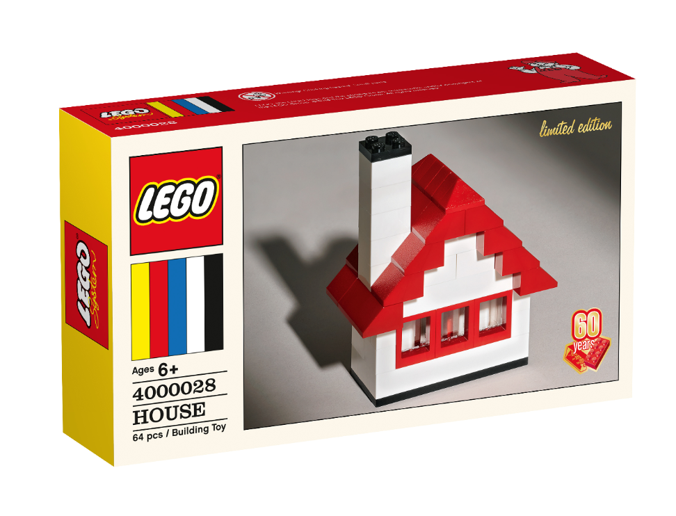 Lego Classic 60th Anniversary Limited Edition House