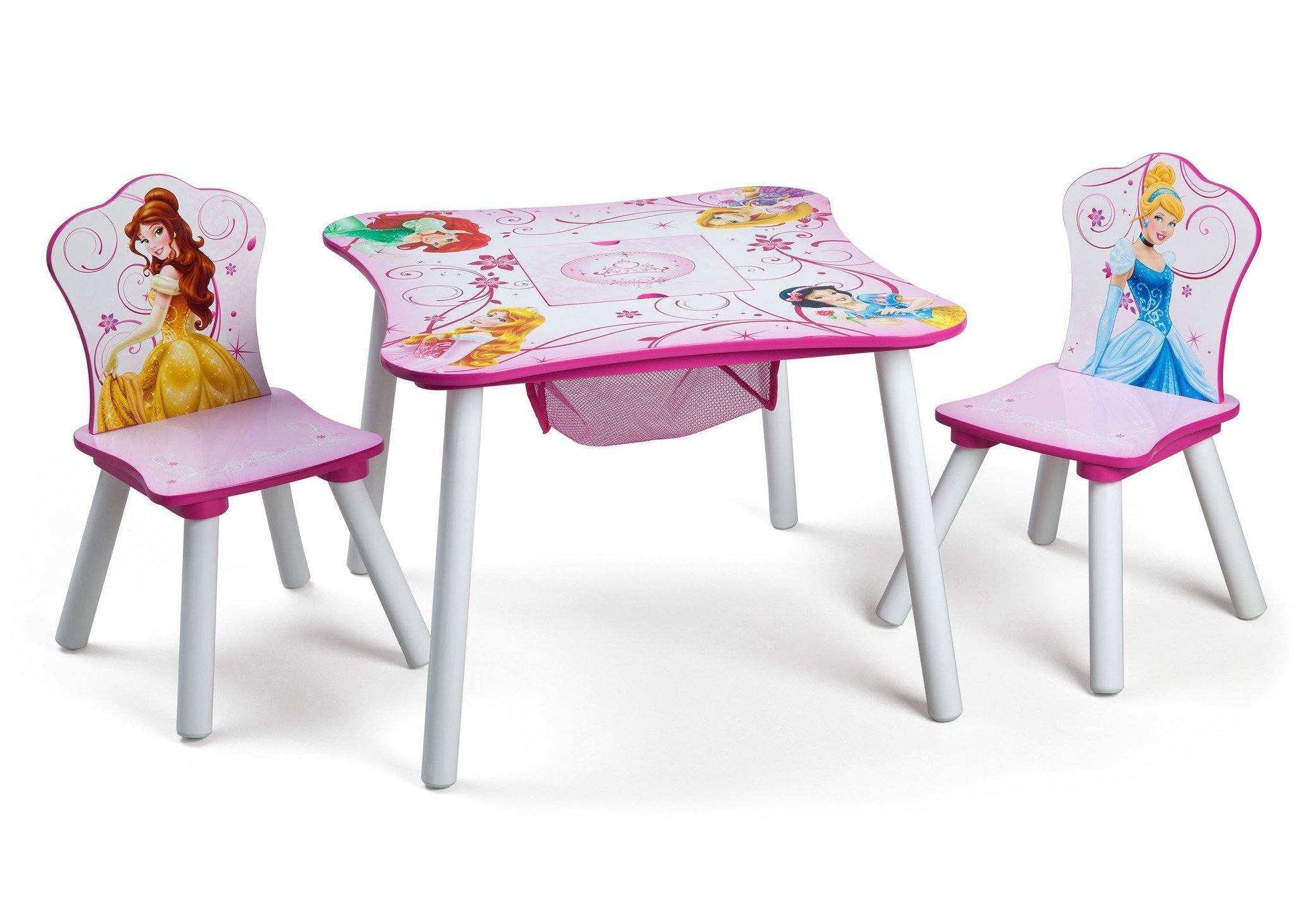 Disney Princess Storage Table And Chairs Set Only $39.99, Down From $75!
