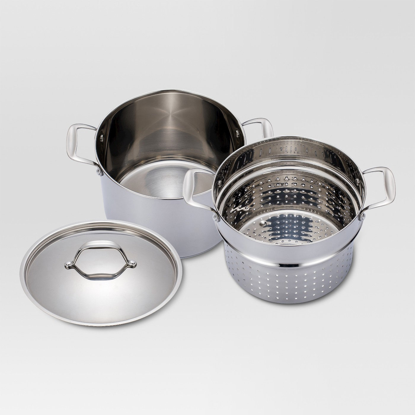 8 Qt Stainless Steel Pasta Pot Threshold Only 1749 Down From 3499