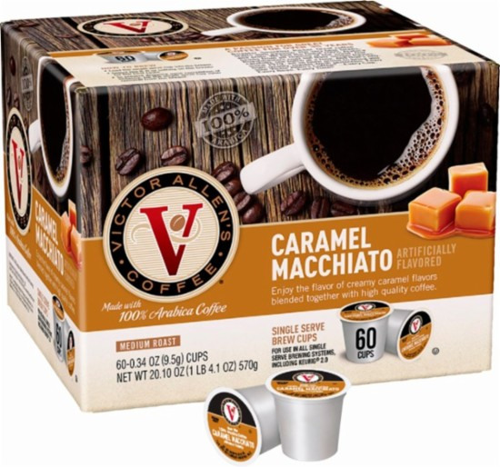 Down At Victor Allens Coffee Trying Out >> Victor Allen S Caramel Macchiato Coffee Pods 60 Pack Only 14 99